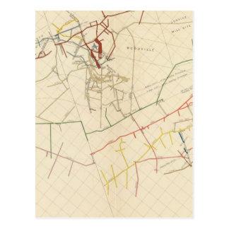 Comstock Mine Maps Number VIII Postcards