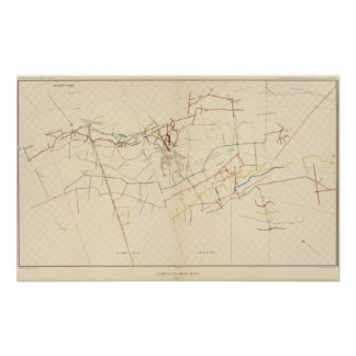 Comstock Mine Maps Number VIII Poster