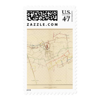 Comstock Mine Maps Number VIII Stamp