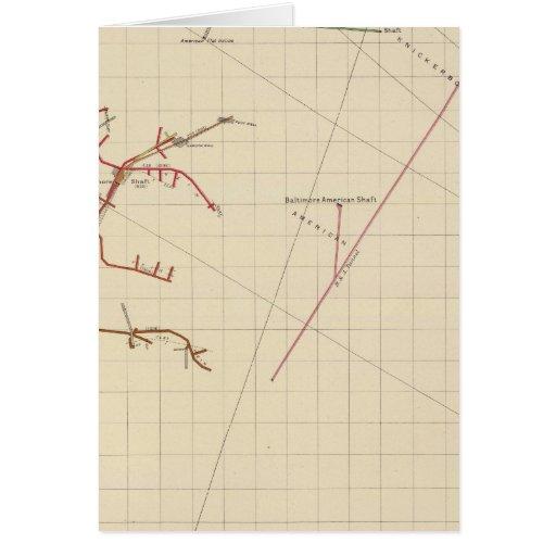 Comstock Mine Maps Number VIX Card
