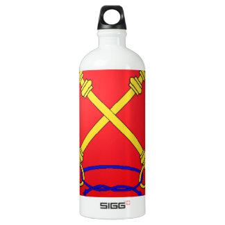 Comtat Venaissin (France) Coat of Arms Aluminum Water Bottle