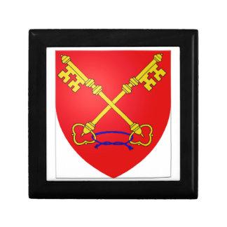 Comtat Venaissin (France) Coat of Arms Jewelry Box