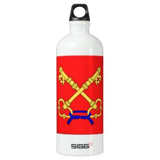 Comtat Venaissin (France) Flag Aluminum Water Bottle