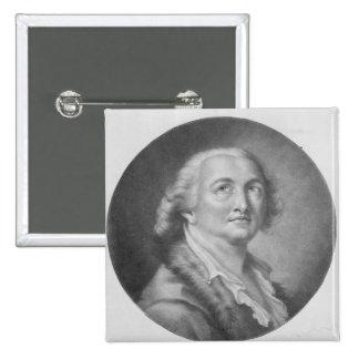 Comte de Cagliostro Pinback Button