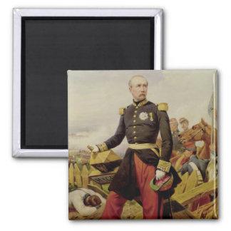 Comte Maurice de MacMahon , 1860 2 Inch Square Magnet