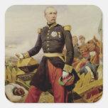 Comte Mauricio de MacMahon, 1860 Pegatina Cuadrada