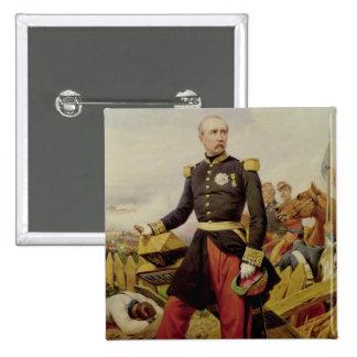 Comte Mauricio de MacMahon, 1860 Pin Cuadrado
