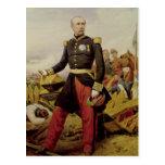 Comte Mauricio de MacMahon, 1860 Tarjeta Postal