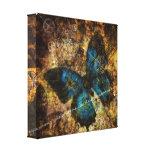 Comtemplación del efecto mariposa impresión en tela