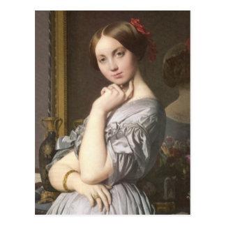 Comtesse d'Haussonville (detail), Ingres Postcard