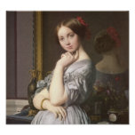 Comtesse d'Haussonville (detail), Ingres Posters