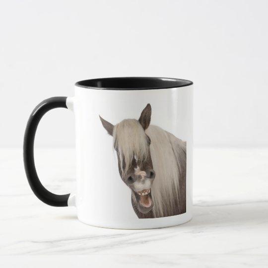 Comtois horse is a draft horse - Equus caballus Mug