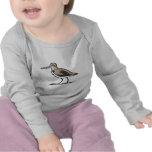 Común ataque desde un escondite el pájaro camisetas