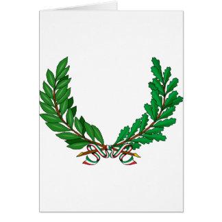 Comune de Ornamenti DA, Italia Tarjeta De Felicitación