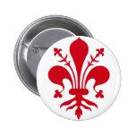 Comune di Firenze 2 Inch Round Button