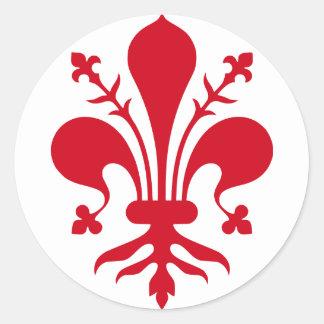 Comune di Firenze Classic Round Sticker