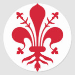 Comune di Firenze Round Sticker