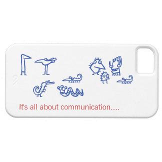 Comunicación - caso extranjero divertido de las iPhone 5 carcasas