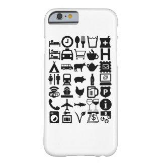 Comunicación del viaje, universal funda de iPhone 6 barely there