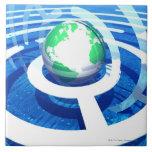 Comunicación global, ordenador conceptual 2 tejas