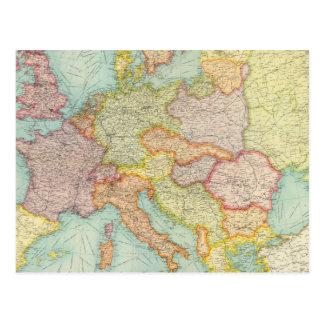 Comunicaciones compuestas de Europa Postal