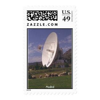 Comunicaciones de espacio profundo de la NASA - Sello