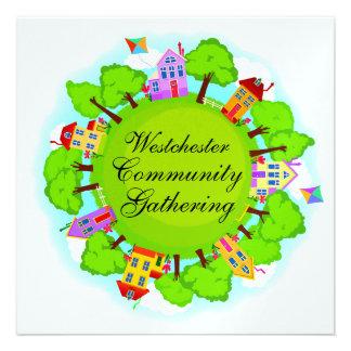 Comunidad - acontecimiento de la vecindad - SRF Comunicado