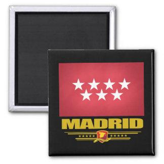 Comunidad de bandera de Madrid Imanes