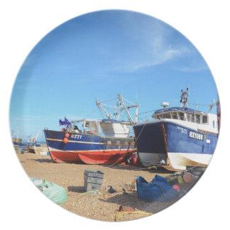Comunidad de la pesca en Hastings Platos Para Fiestas