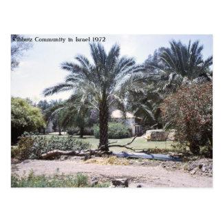Comunidad de los kibutz en Israel Tarjetas Postales