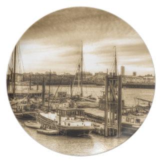 Comunidad del barco del río Támesis