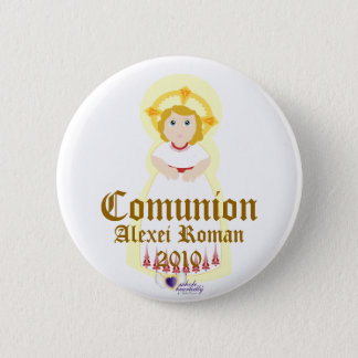 """Comunion"" Button- Customize Pinback Button"