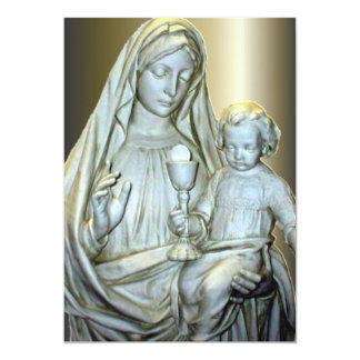 Comunión con Jesucristo y Virgen María Anuncio
