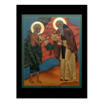 Comunión de St Mary de la tarjeta del rezo de Egip Postales
