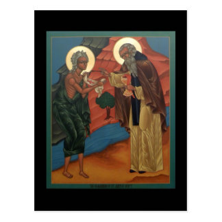Comunión de St Mary de la tarjeta del rezo de Postales