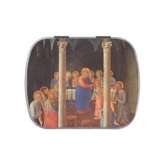Comunión del Fra Angelico- de los apóstoles Latas De Dulces