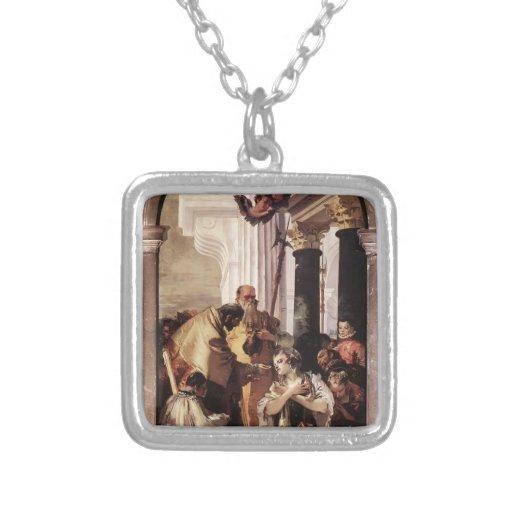 Comunión pasada de Juan Tiepolo- de St Lucy Pendiente