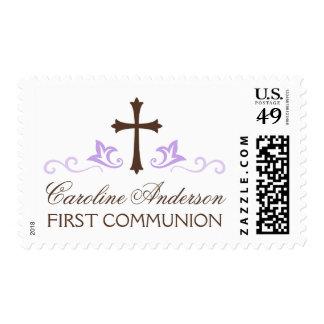 Comunión santa conocida personalizada de la púrpur
