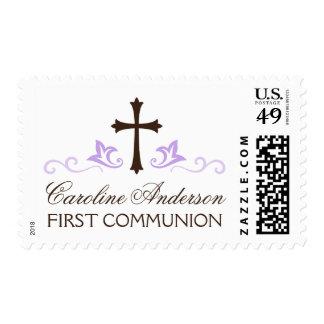 Comunión santa conocida personalizada de la sello