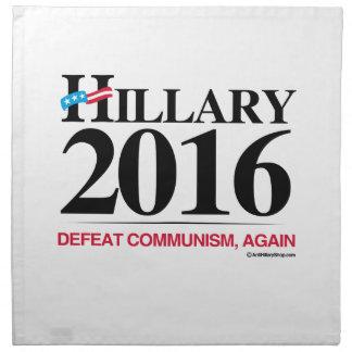 Comunismo de la derrota otra vez servilleta de papel