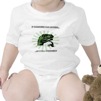 Comunismo de Philosoraptor Traje De Bebé