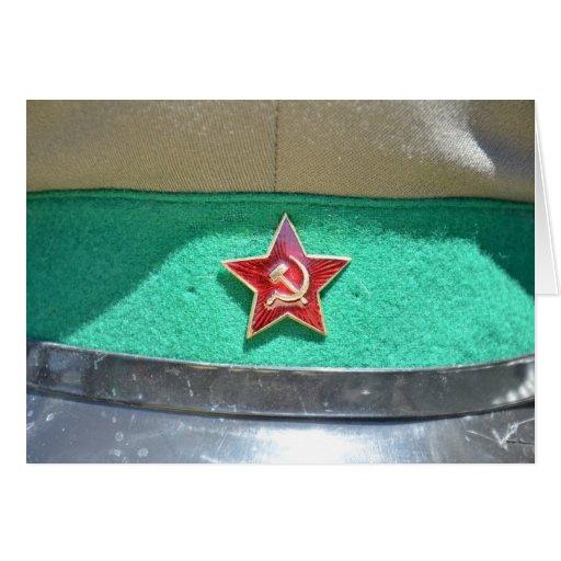 comunista retro de Rusia Moscú de la película de l Felicitación