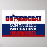 COMUNISTA, SOCIALISTA, OBAMANIST POSTER