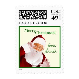 Con amor de sellos de Santa