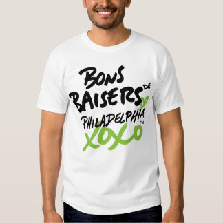 """Con amor"" en camiseta francesa Poleras"