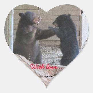 Con amor… Pegatina