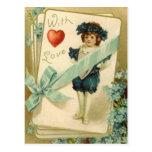 Con amor tarjetas postales