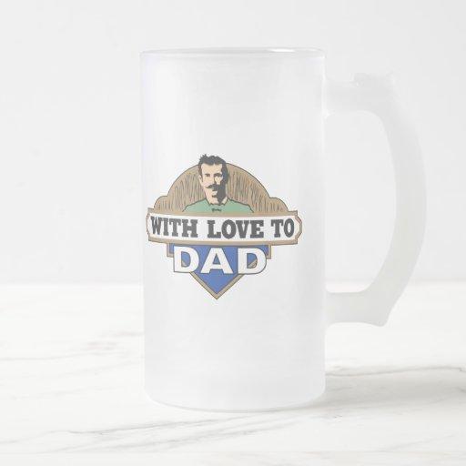 Con amor tazas de café