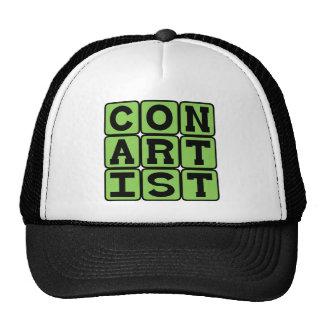 Con Artist, Confidence Man Trucker Hat