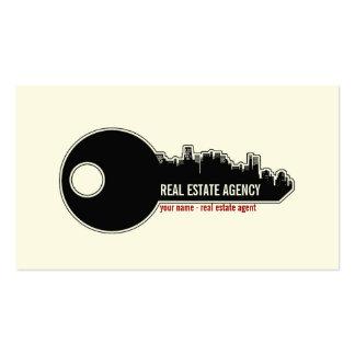 Con clase - tarjeta de visita de las propiedades i